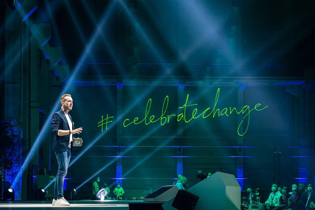 Moderator beim Greentech Festival 2021