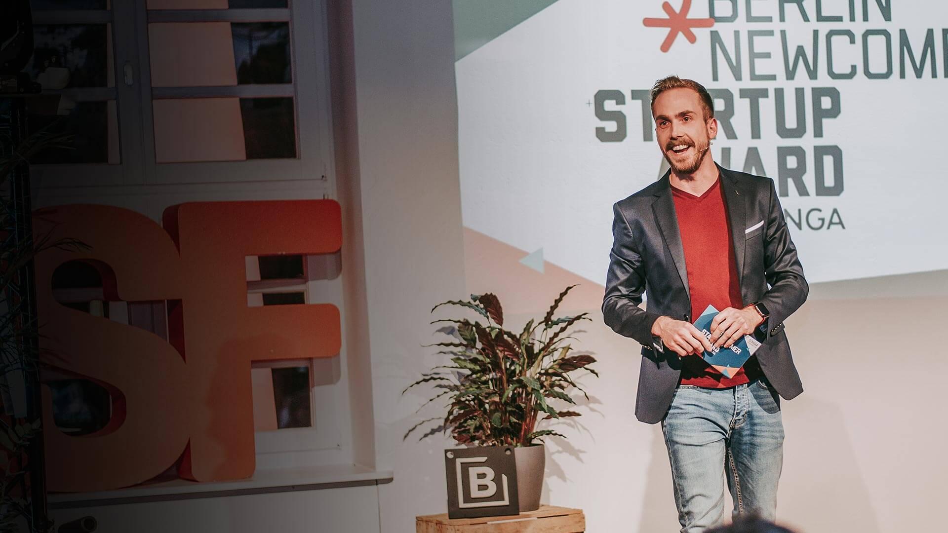 Event-Moderator Felix Uhlig aus Hamburg