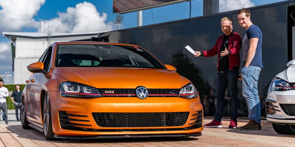 Moderator beim Volkswagen Treffen Homecoming