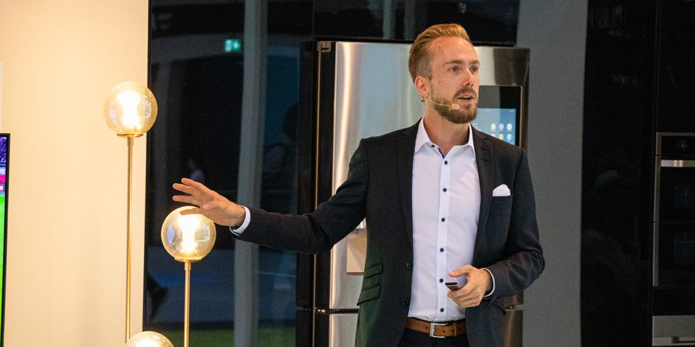 Moderator auf der IFA für Samsung Deutschland