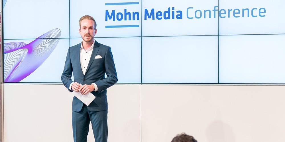 Moderator für die Mohn Media