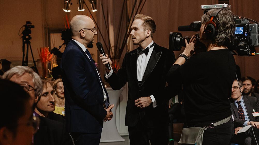 Felix Uhlig Charity Gala Moderator