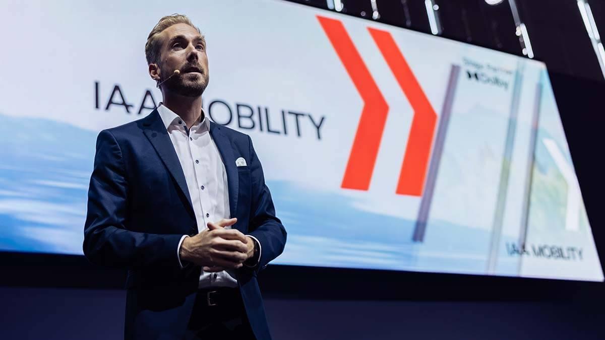 IAA Mobility Moderator Felix Uhlig