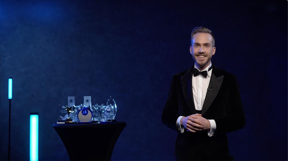Ecolab Food Retail Service Award Moderator Felix Uhlig