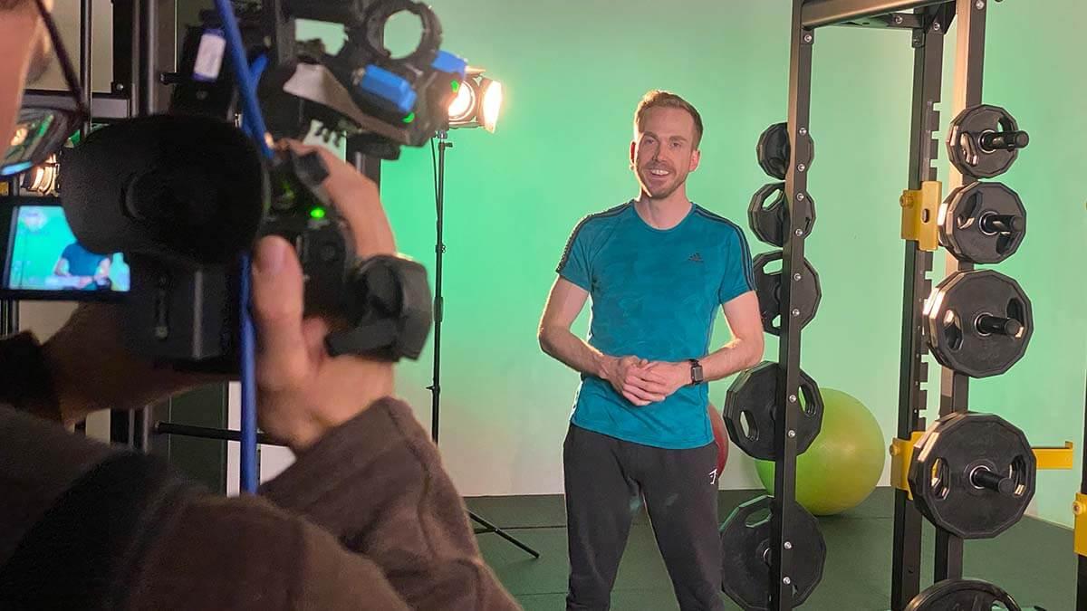 Moderator der Virtual Fitness Show 2021