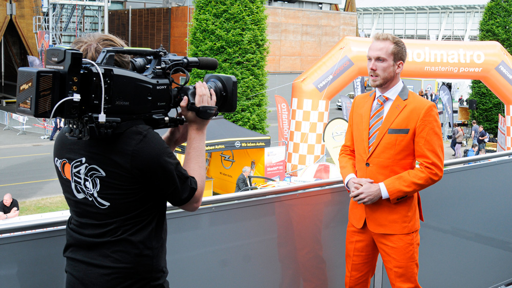 TV-Moderator Felix Uhlig