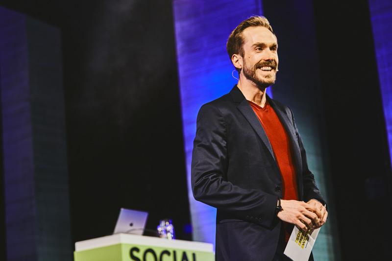 Event-Moderator Felix Uhlig