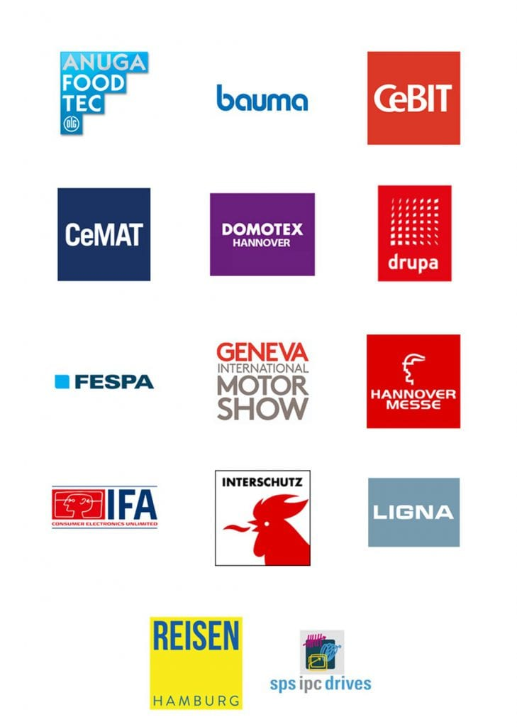 Felix Uhlig Moderator Messen Logos
